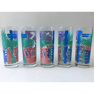 1990s Cocktail Glasses - Set of 5 Preview
