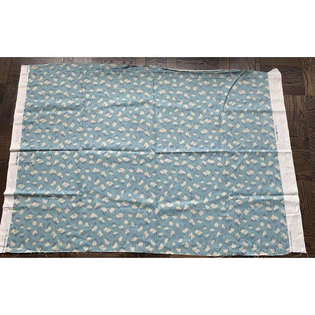 Boho Chic 1 Yard Groundworks Feline Linen Fabric For Sale - Image 3 of 8