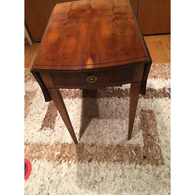 Baker, Knapp & Tubbs Baker Drop Leaf Side Table For Sale - Image 4 of 4