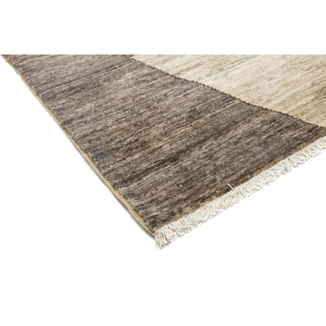 """Contemporary Gabbeh Hand Knotted Area Rug - 8'3"""" X 9'10"""" For Sale - Image 3 of 4"""