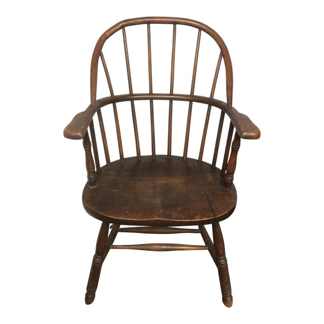 Antique Heywood Bros. & Wakefield Bentwood Windsor Chair For Sale