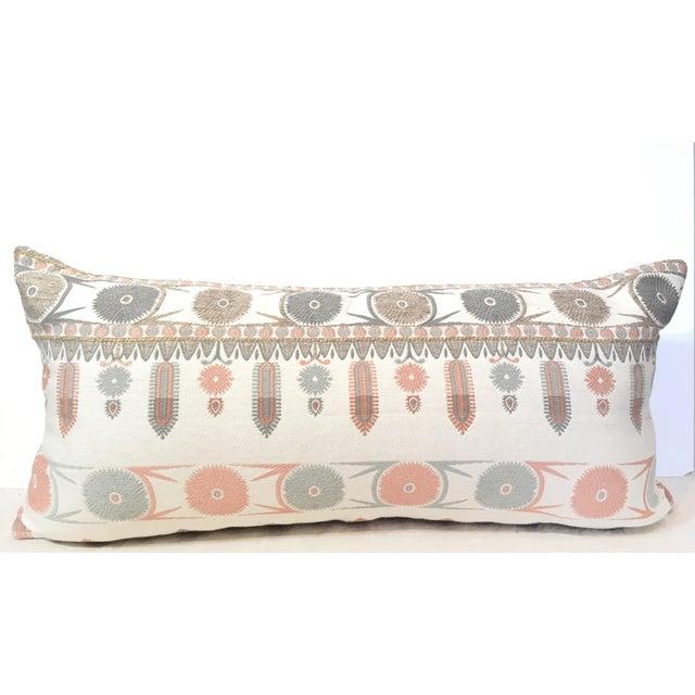 Suzani Motif Designer Pillow Cover - Image 2 of 4