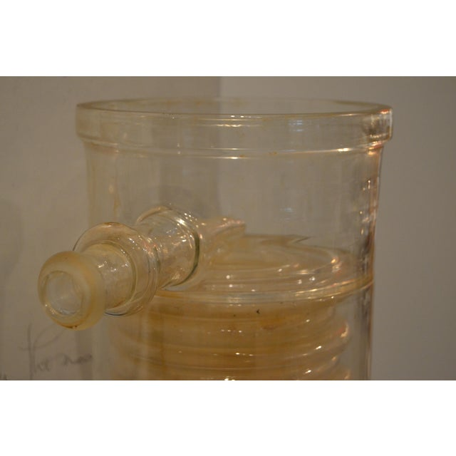 French Laboratory Glass Vessel, C.1900 For Sale - Image 4 of 11