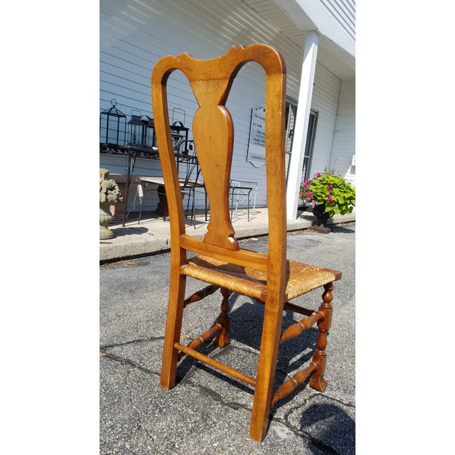 Stickley Reproduction Queen Anne Dining Chairs - Set of 6 - Image 6 of 9