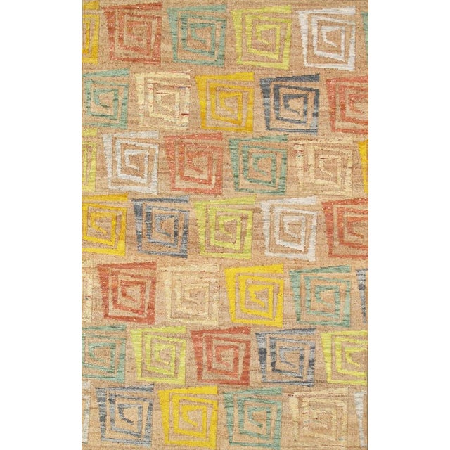 Pasargad Sumak Hemp Area Rug- 5' X 8' - Image 1 of 2