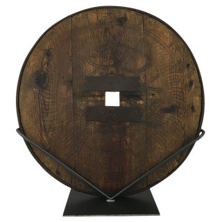 Antique Wheel | Wooden Cart Wheel