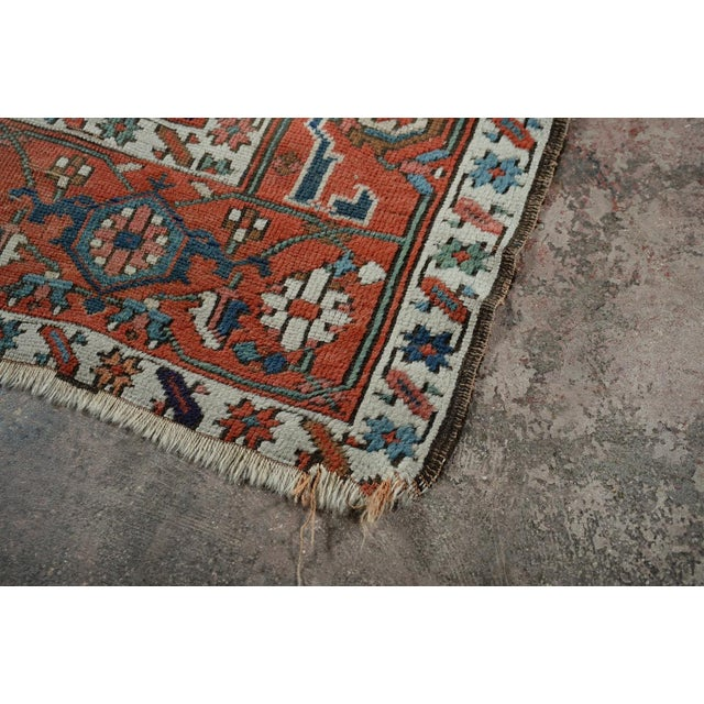 Textile Caucasian Kazak Tribal Design Runner Rug - 4′ × 12′11″ For Sale - Image 7 of 10