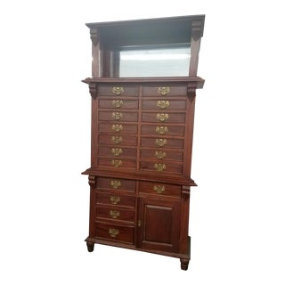 Antique Dentist Cabinet For Sale
