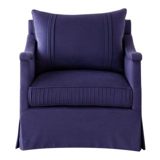 Vallone Couture Lounge Chair For Sale