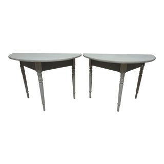Swedish Demi Lune Tables For Sale