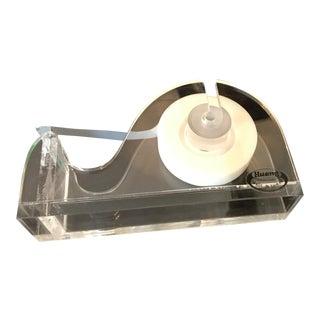 Modern Acrylic Tape Dispenser For Sale