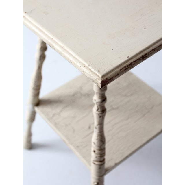 Antique Splayed Leg End Table - Image 7 of 7
