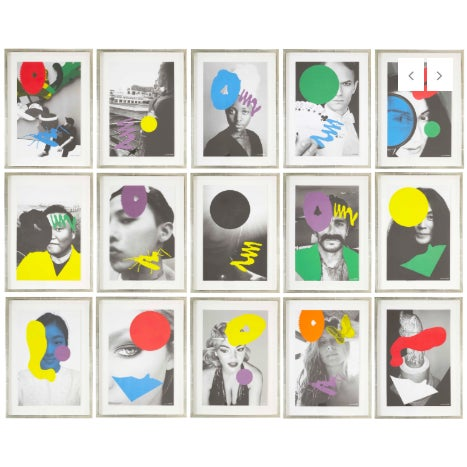 Metal John Baldessari in Collaboration With Among Others Kaws, Ed Ruscha and Ai Weiei For Sale - Image 7 of 7