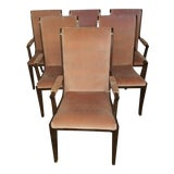 Image of 1970s Vintage Mastercraft Dining Chairs- Set of 6 For Sale