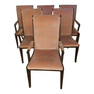 1970s Vintage Mastercraft Dining Chairs- Set of 6 For Sale