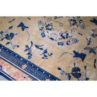 1870s, Handmade Antique Chinese Ningsha Rug 6.1' X 9.3' Preview