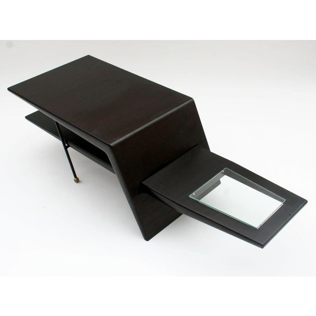 Early 20th Century Mid-Century Modern Sculptural Coffee Table For Sale - Image 5 of 5