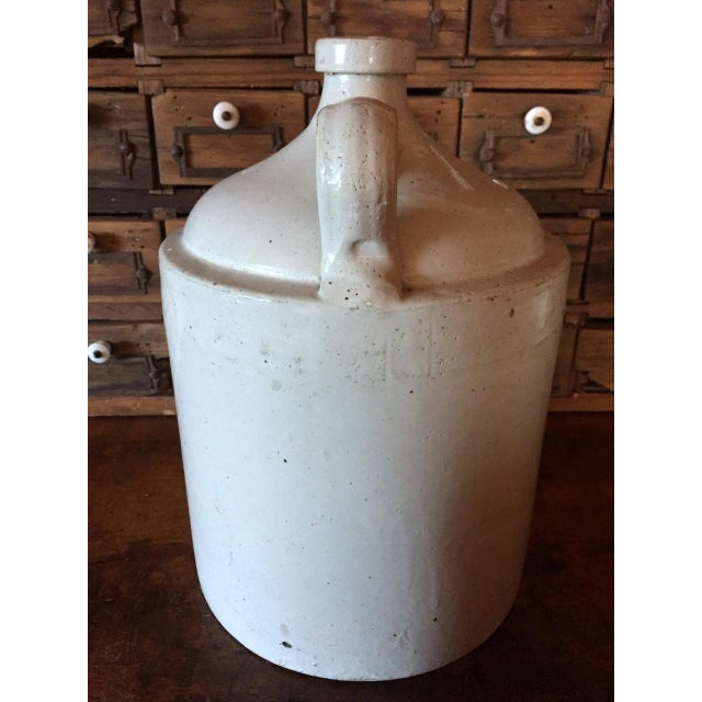 1900s Grommes & Ullrich Pre-Prohibition Whiskey Jug Circa 1890's For Sale - Image 5 of 9