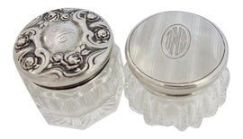 Image of Sterling Silver Bathroom Accessories