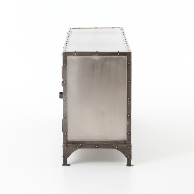 Industrial Industrial Erdos + Ko Ellen Media Console Table For Sale - Image 3 of 8
