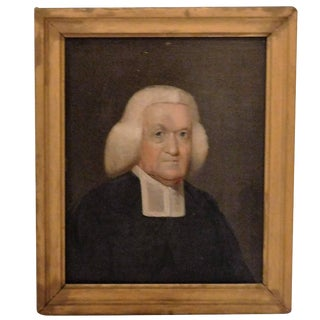 "Oil on Board ""The Barrister"", circa 1770, England For Sale"