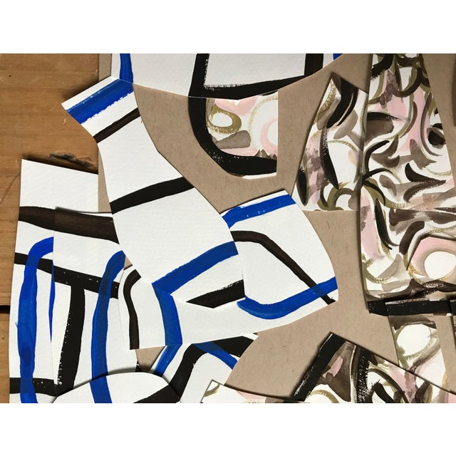 2020s Contemporary Painting and Paper Collage by Artist Corinne Robbins For Sale - Image 5 of 7