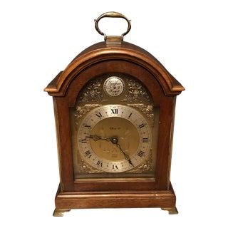 Tiffany & Company Georgian Mahogany Bracket Clock For Sale