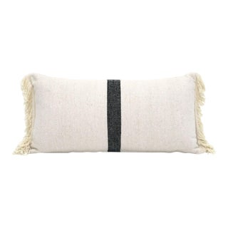 Moroccan Cotton Fringe Pillow For Sale