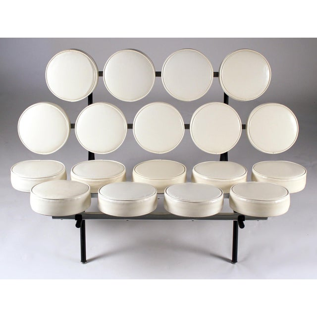 1950s Early Marshmallow Sofa by George Nelson for Herman Miller For Sale - Image 5 of 11