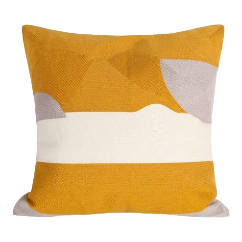 Crewel Embroidery Abstract Cushions & Throw Pillow Covers - # 01 For Sale