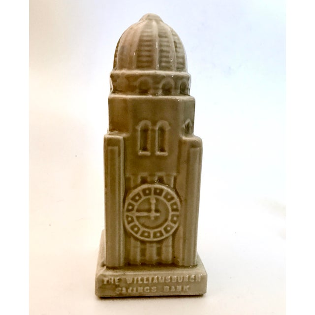 1954 Americana Williamsburg Bank Commemorative Coin Bank For Sale - Image 11 of 11