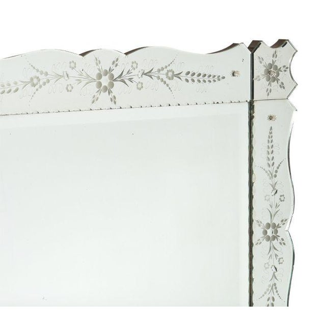 Art Deco French Antique Mirror For Sale In Austin - Image 6 of 10