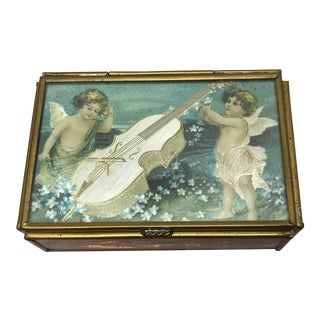 Vintage Music Box For Sale