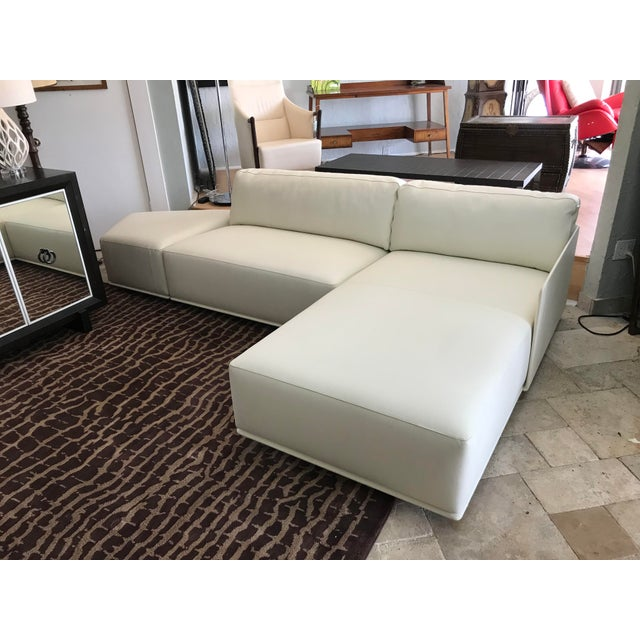 Poltrona Frau Cassiopea Sofa For Sale - Image 10 of 10