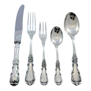 Imperial by Camusso Sterling Silver Flatware Set for 12 Service 68 Pieces For Sale