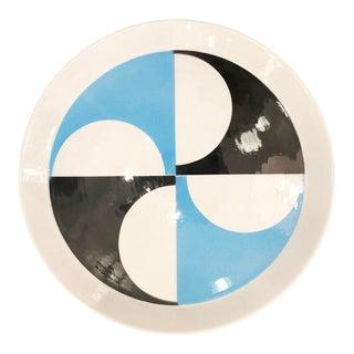 Gio Ponti Plate for Ceramiche Franco Pozzi For Sale