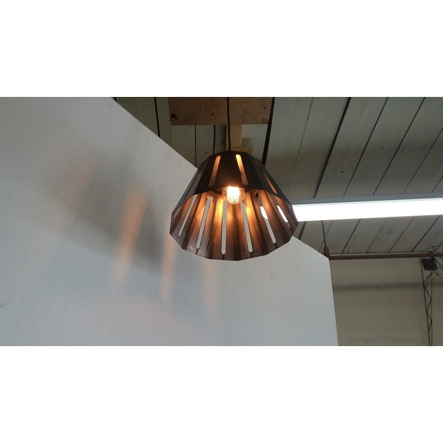 Contemporary Crusader Pendant Light For Sale - Image 3 of 6