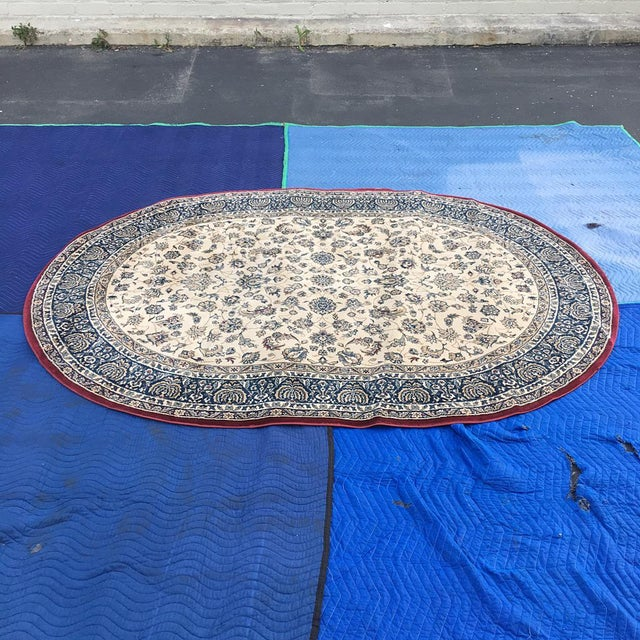 """Traditional Persian Floral Rug - 5'3"""" x 7'5"""" - Image 3 of 6"""