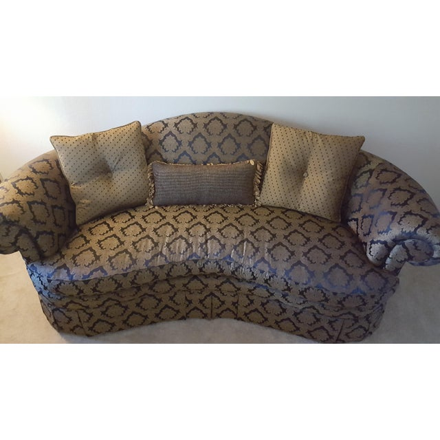 Gold Hickory Chair Furniture Company Sofa For Sale - Image 8 of 8