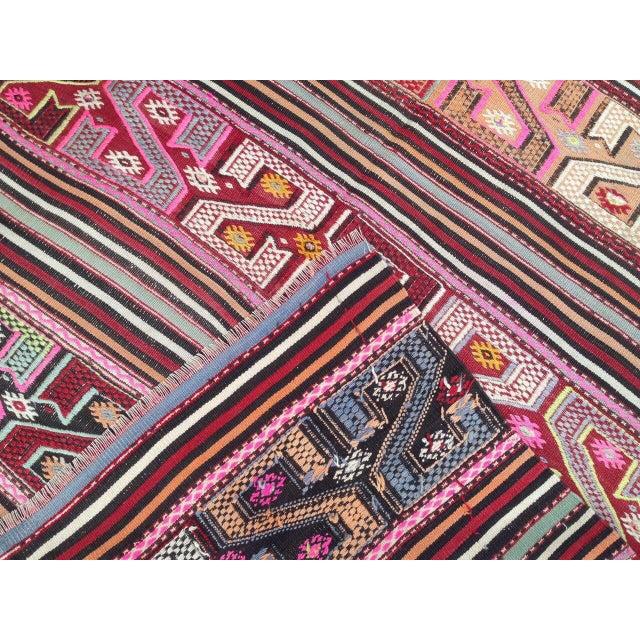 "Vintage Anatolian Rug -- 4'5"" X 7'1"""