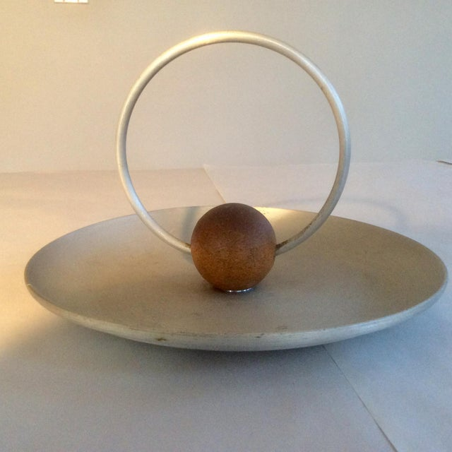 Mid-Century Modern Russel Wright Spun Aluminum Serving Pieces - Set of 18 For Sale - Image 3 of 11