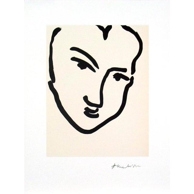 """Nadia Au Visage Penche"" by Henri Matisse - Image 2 of 2"