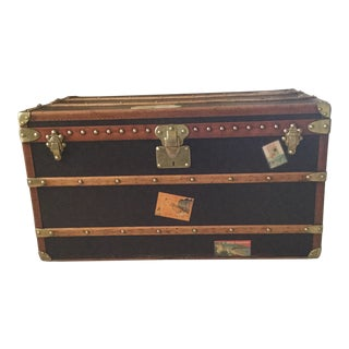 1930s French Louis Vuitton Trunk For Sale