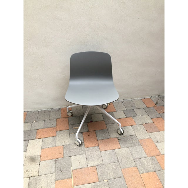 Grey Designer Office Chair - Image 3 of 3