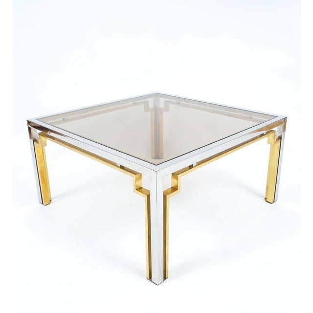 Exquisite Double-Frame Coffee Table Attributed to Romeo Rega For Sale - Image 9 of 9