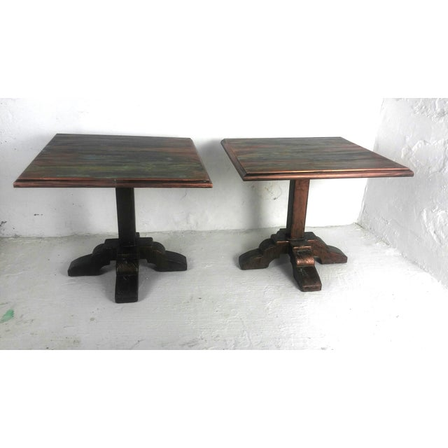 Mid-Century Side Tables - A Pair For Sale - Image 9 of 9