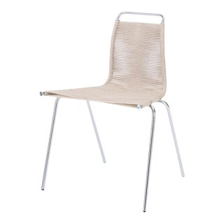 Single Pk-1 Dining or Accent Chair by Poul Kjærholm for E Kold Christensen For Sale