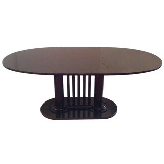 1980s Bauhaus Stendig Bruno Paul Dining Table For Sale