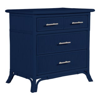 Aruba Four-Drawer Chest - Navy Blue For Sale
