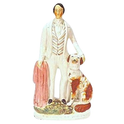 Antique Staffordshire Prince of Wales Figurine For Sale